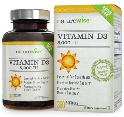 Vitamin D3 - Naturewise