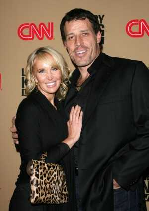 Tony robbins and wife