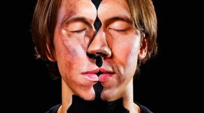 hidden face illusions with face painting