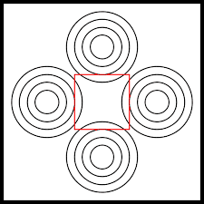 Circle and Square Line Illusions