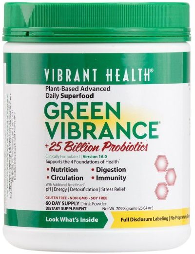 Green Vibrance Review Superfood drink mix