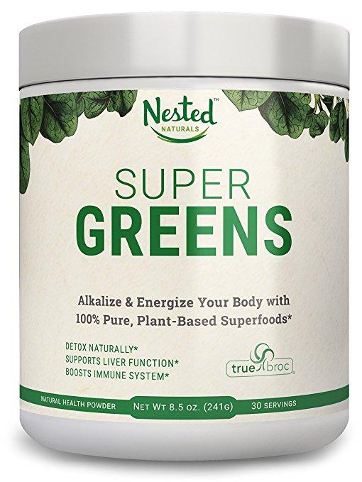Super Greens Review - Green drink powder mix