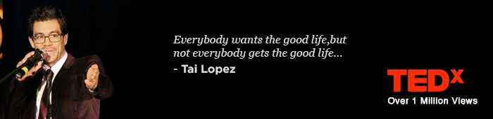 The Very Tai Lopez Quotes - Small