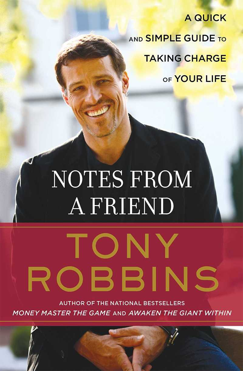 Notes from a Friend - Tony Robbins Book Review
