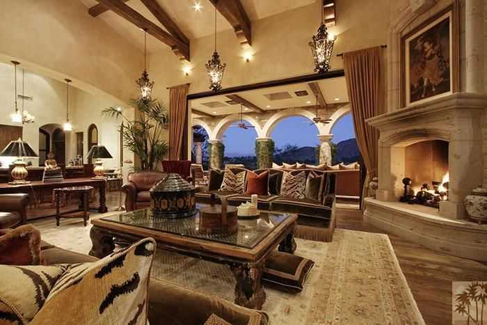 Inside Tony Robbins House
