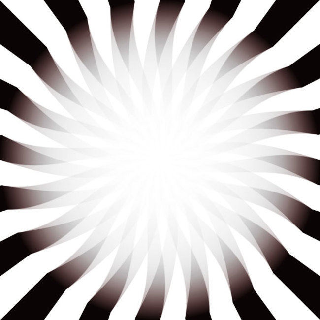 Best Optical Illusions - Gradient glows brighter