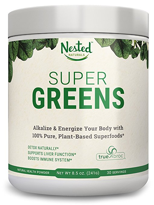 Super Greens Review - Green drink powder mix
