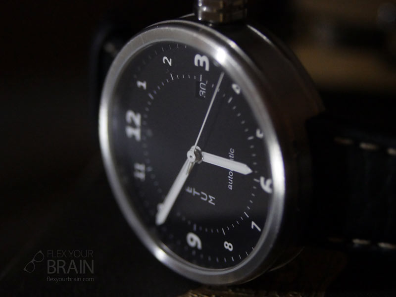 Front of the Xetum Stinson Watch